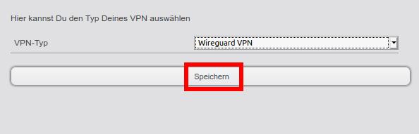 Wechsel zu Wireguard