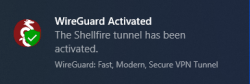 Wireguard tunnel