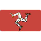 Flagge von Isle of Man